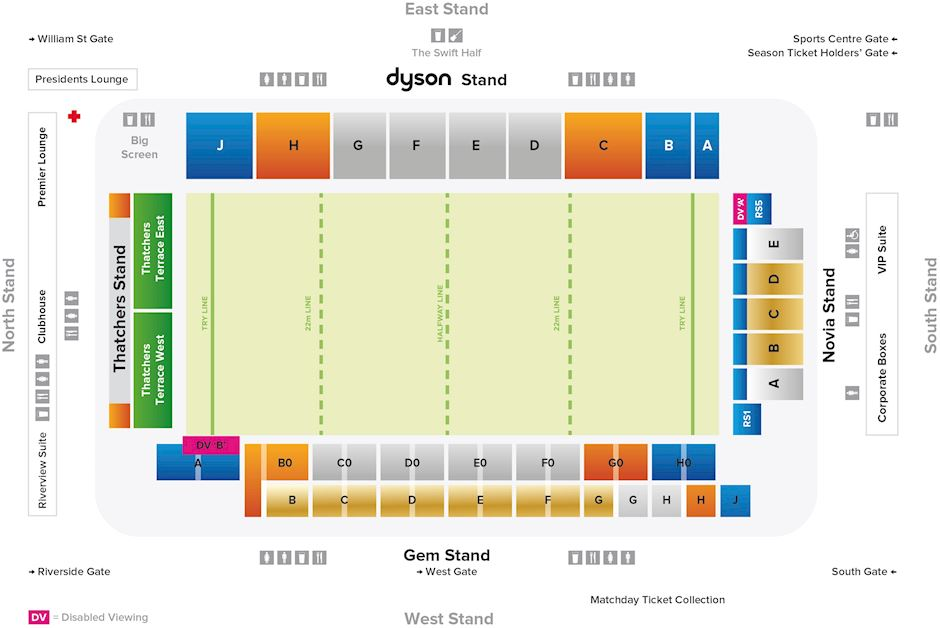 Bath Rugby Recreation Ground Seating Plan Rugs Ideas