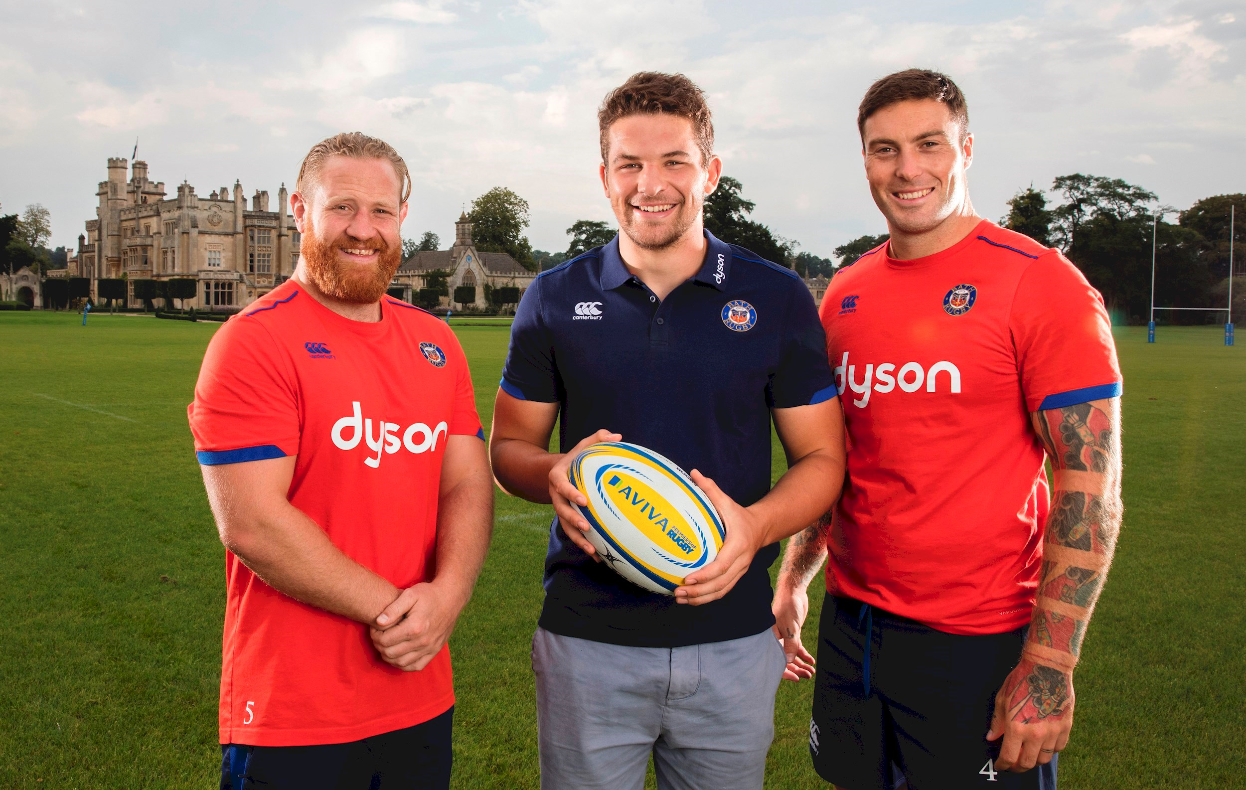 Bath Rugby trio recall grassroots memories to support Aviva Community Fund