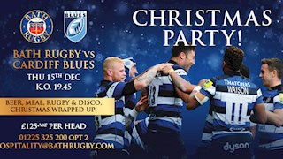 Christmas all wrapped up with Bath Rugby
