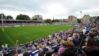 Bath Rugby announces improved financial performance for the  2015/16 financial year