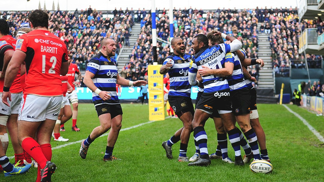 Bath Rugby move up to second with victory over league leaders