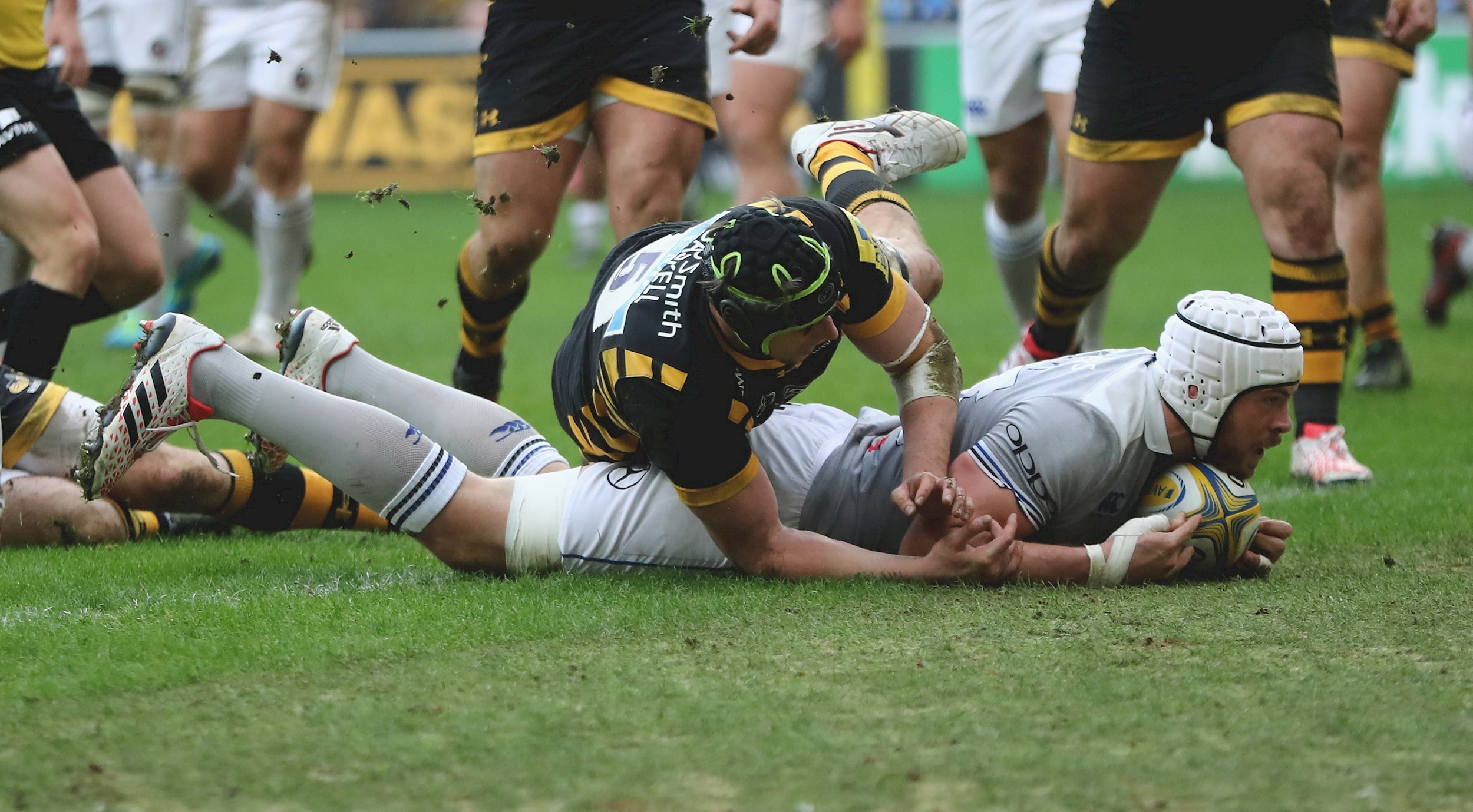Bath Rugby fall to Wasps but secure try bonus point