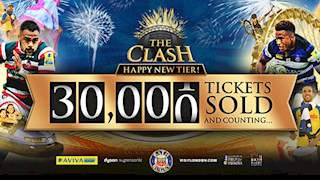 30,000 tickets sold so far for The Clash