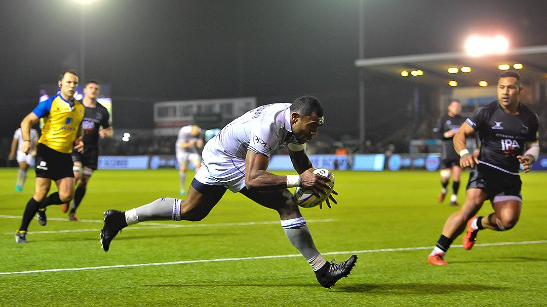 Resurgent Falcons clinch victory over Bath Rugby