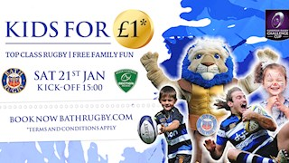 Kids tickets for just £1!