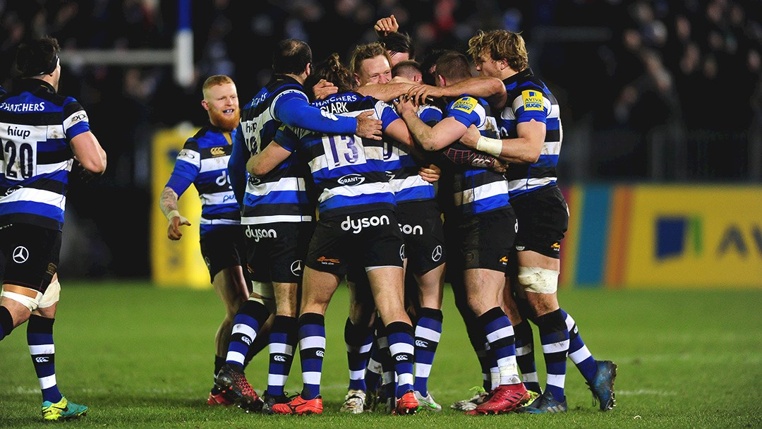 Priestland secures Bath Rugby win with last kick of the game
