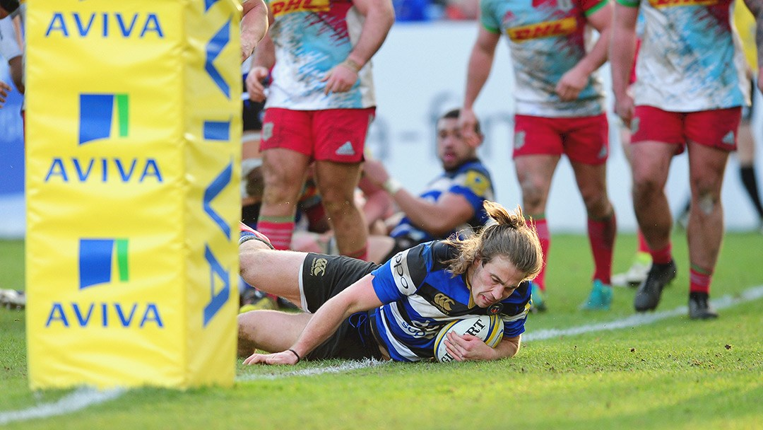 Bath Rugby dig in deep to secure victory over Harlequins