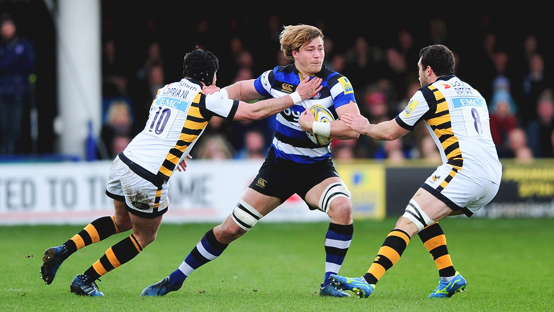 Bath Rugby fall to top of table Wasps