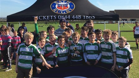 650 youngsters take part in the Land Rover Premiership Rugby Cup