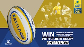 Win tickets to the Aviva Premiership Final