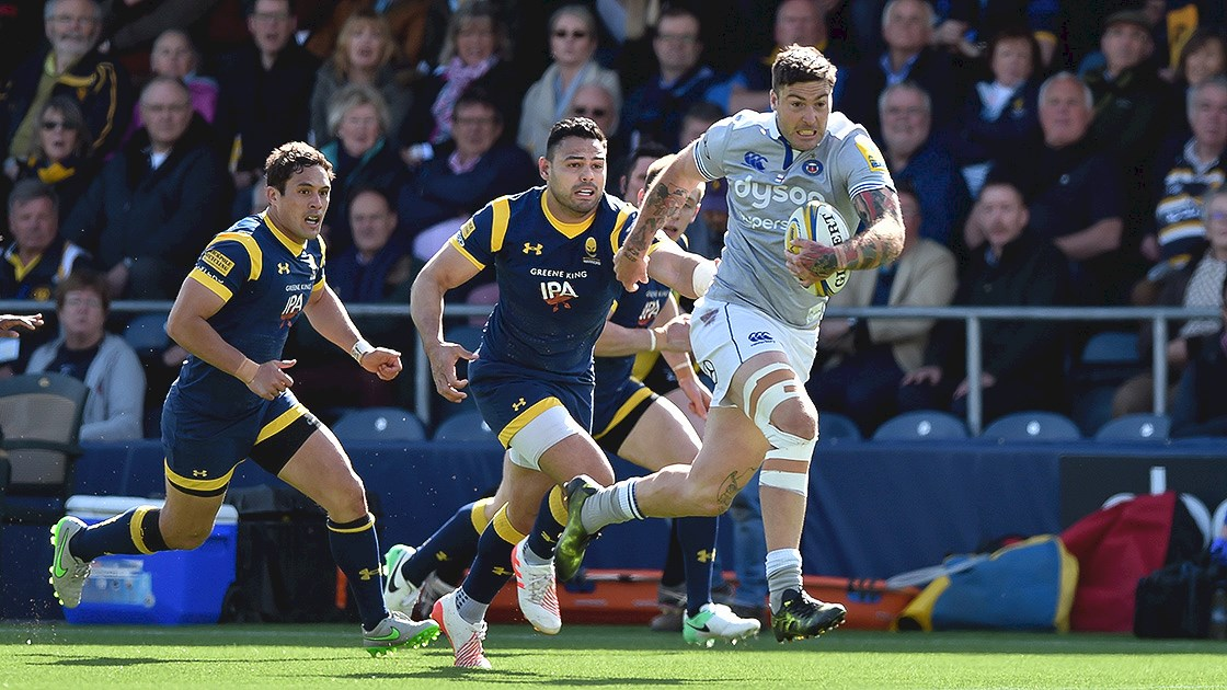 Bath Rugby edged out at Sixways