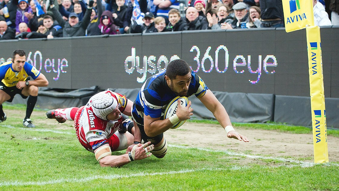 Hat-trick hero Faletau guides Bath Rugby to derby victory