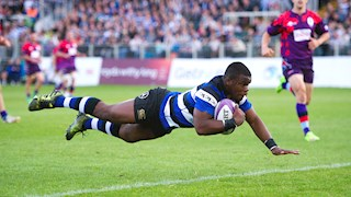 12-try Bath United impress against UK Armed Forces