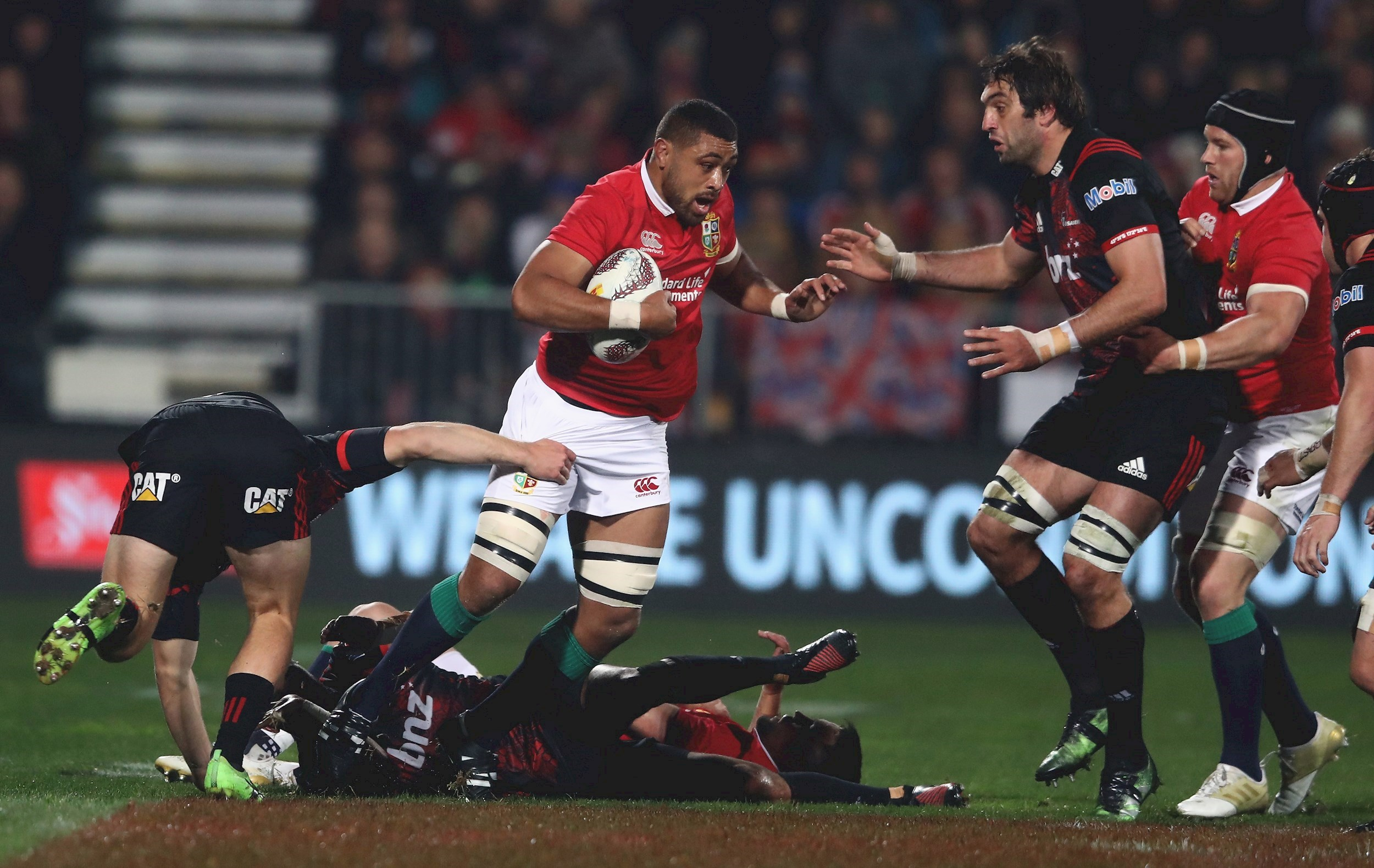 Faletau and Watson start for the Lions against Maori All Blacks