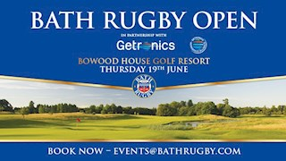 Last chance to register for the Bath Rugby Open