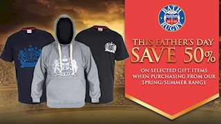 Save 50% on selected items this Father's Day!