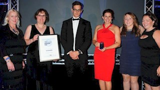 Bath Rugby Foundation scoop top award at the 2014 Bath Chronicle awards