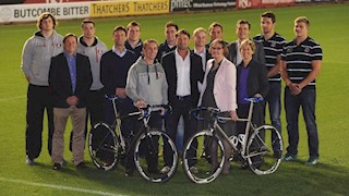Bath Rugby Foundation help launch 'Break the Cycle' 2015