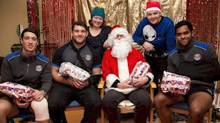 Bath Rugby Foundation teams up with Father Christmas