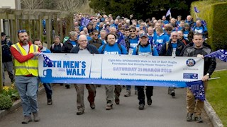 Record number for Bath Men's Walk 2015