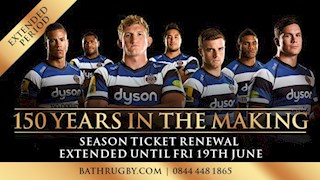 One week left to renew your season ticket!