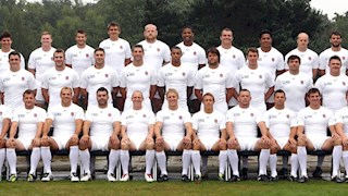 Four Bath Rugby players fly the flag for England