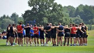 Bath Rugby squad to face the Falcons