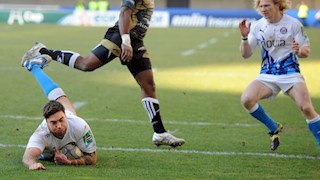 Last-gasp try sees Montpellier snatch victory over Bath Rugby