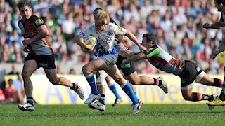 Bath Rugby edged out by table toppers Harlequins