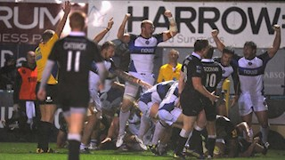 Bath Rugby power to hard-earned victory