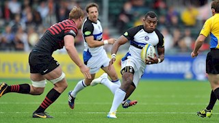 Bath Rugby fall to first defeat of the season
