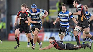 Bath Rugby remain undefeated in Europe with Dragons win