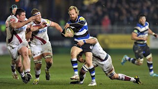 Sale Sharks edge Bath Rugby by single point