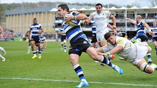 Bonus Bath Rugby overcome Warriors spirit