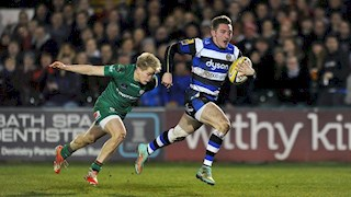 Lane scores hat-trick in eight try Bath United victory