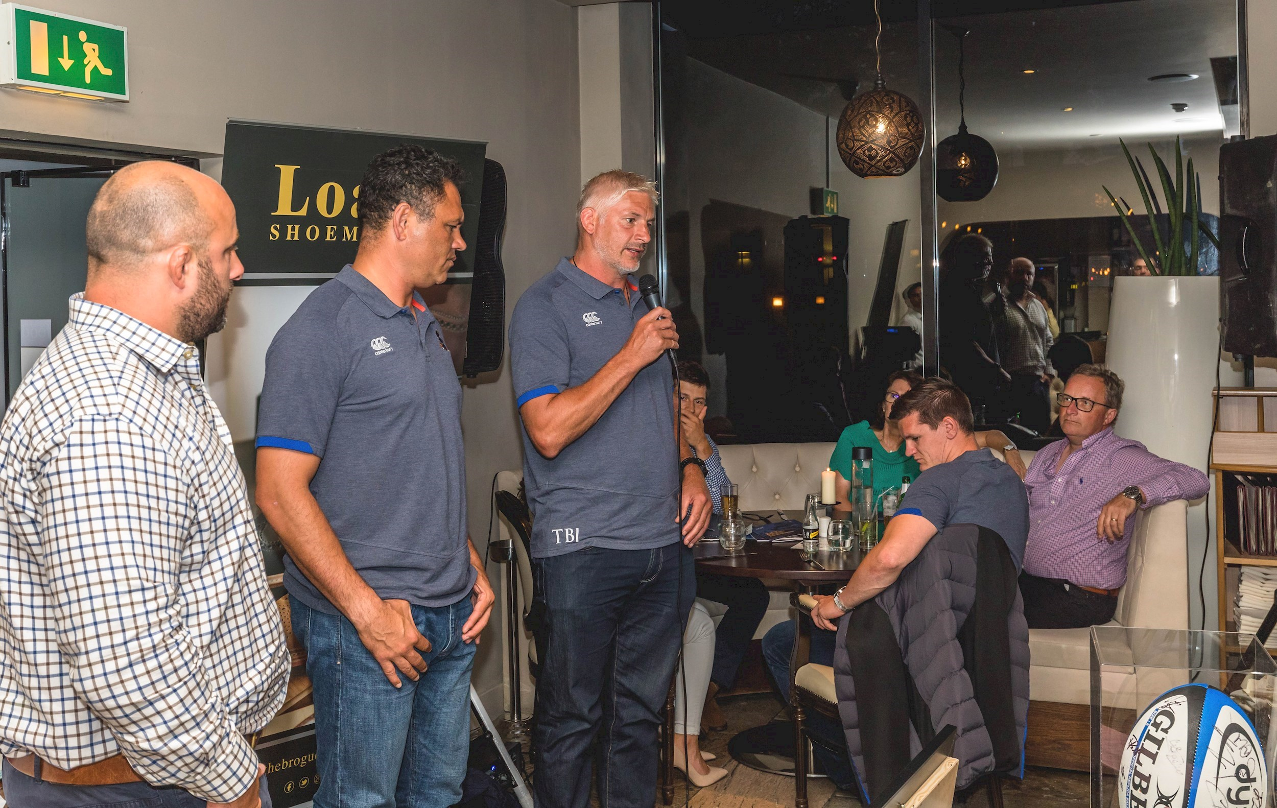 Loake Bath raises £3,500 for charity at The Mint Room curry night