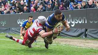 Faletau, Joseph and Watson all start for Bath Rugby against Leicester Tigers