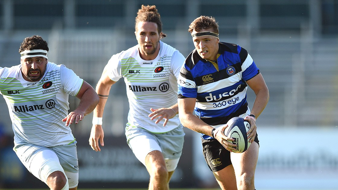 Malins inspires Saracens Storm to victory over Bath United