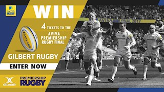 Win big with Gilbert Rugby