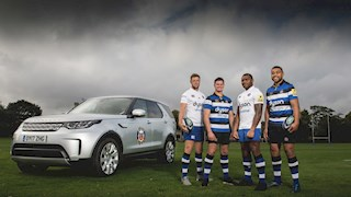 Land Rover and Bath Rugby announce new partnership
