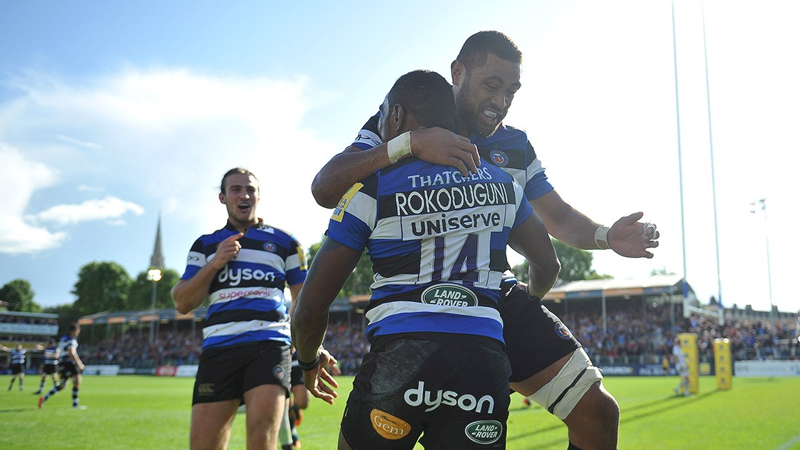 Rokoduguni inspires Bath Rugby to victory over Saracens