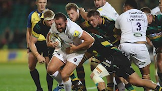 Northampton Saints end Bath Rugby's unbeaten start to the season