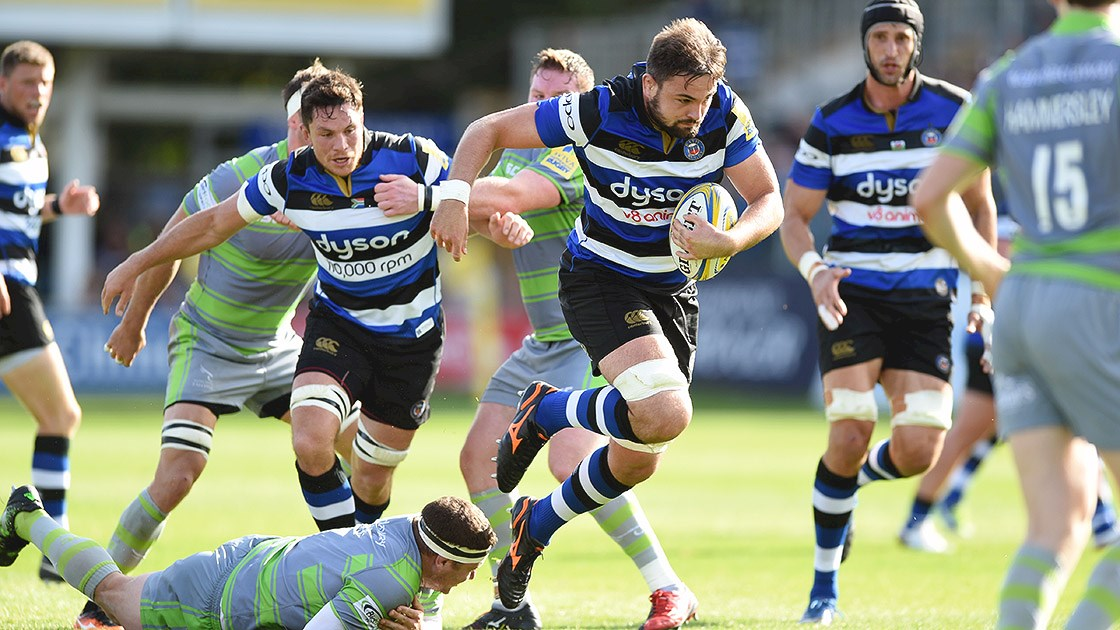 Newcastle Falcons stage late comeback to beat Bath Rugby
