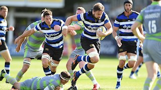 Change to Bath Rugby team to face Benetton
