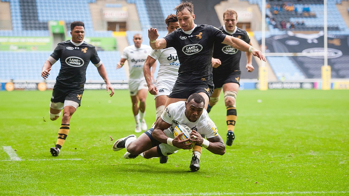 Late Rokoduguni try secures win for Bath Rugby