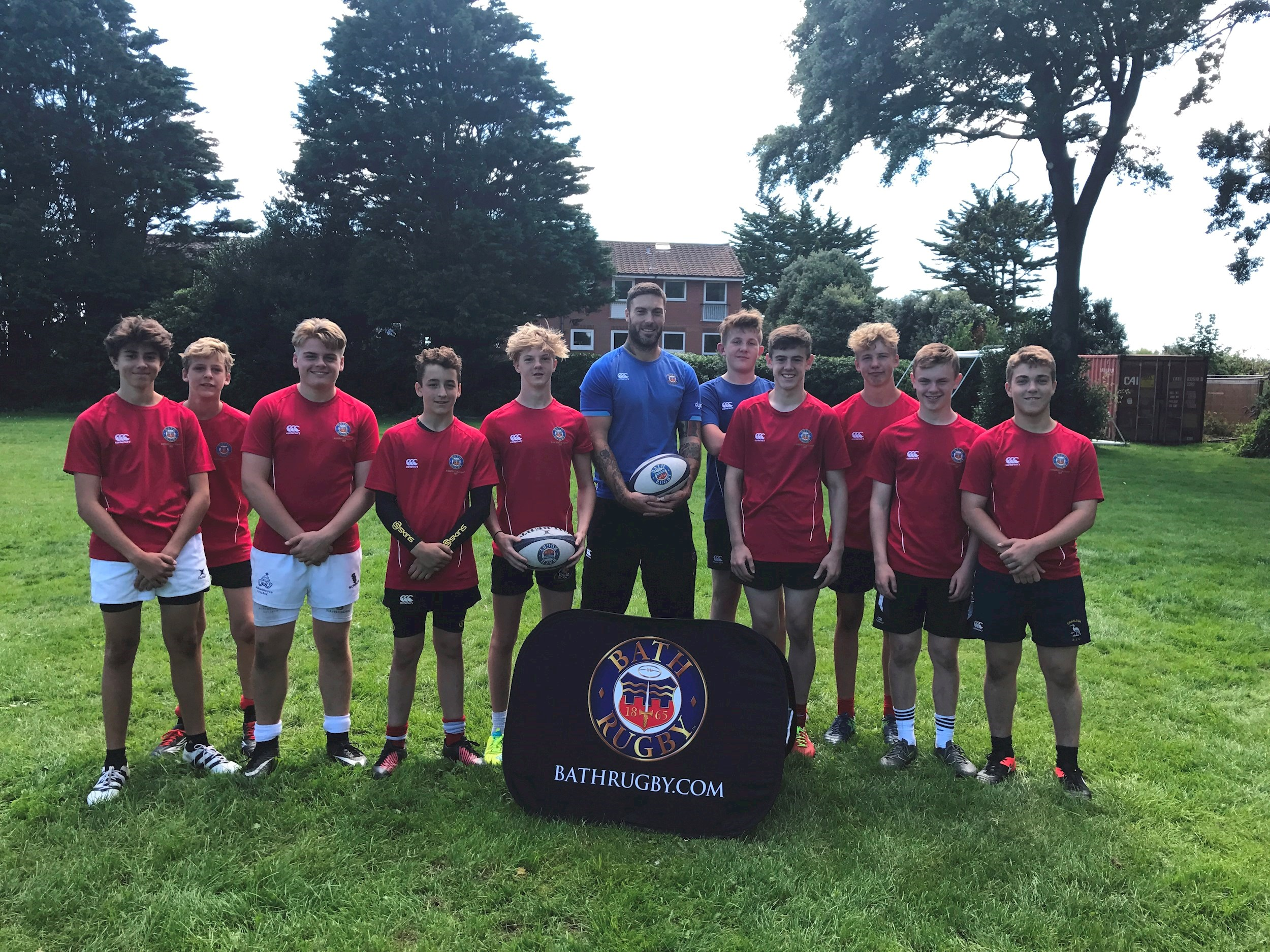 First ever Bath Rugby Residential Camp a roaring success