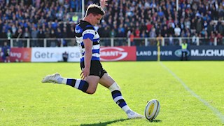 Debut Bath Rugby start for Burns