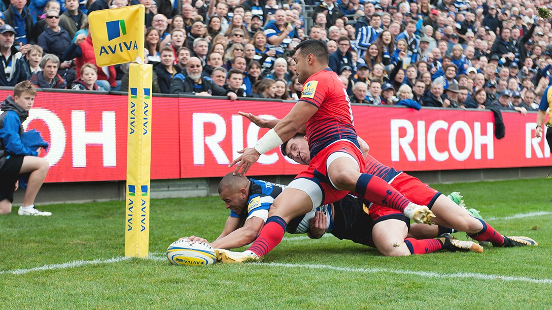 Brew scores twice as Bath Rugby secure bonus-point win against Worcester Warriors