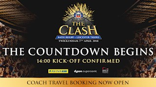 The Clash kick-off confirmed