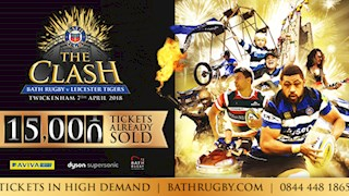 Over 15,000 tickets sold for The Clash